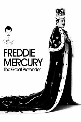 Freddie Mercury: The Great Pretender Poster