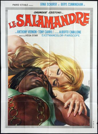 Le salamandre Poster