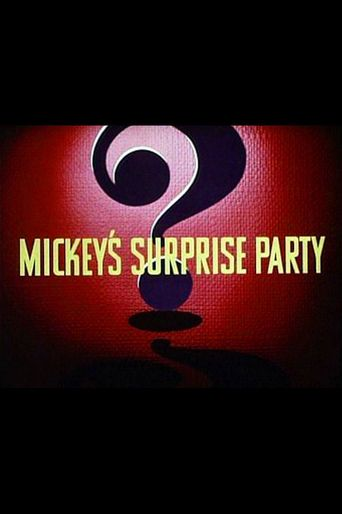 Mickey's Surprise Party Poster