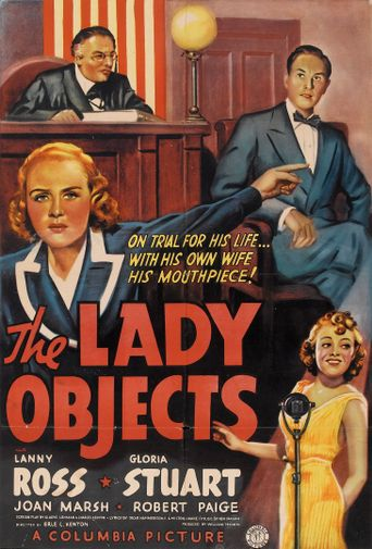 The Lady Objects Poster