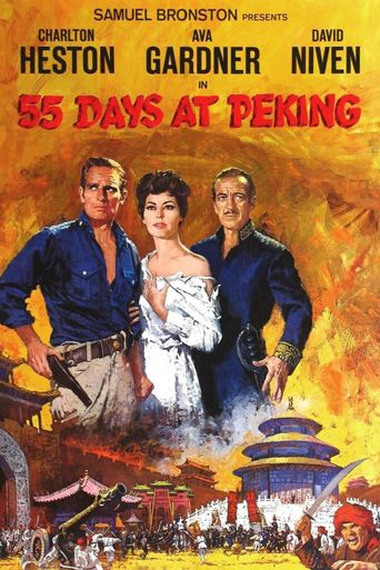 55 Days at Peking Poster
