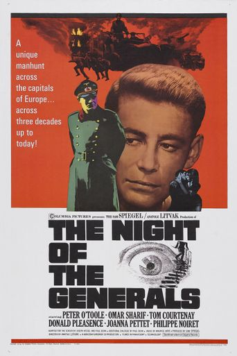 The Night of the Generals Poster