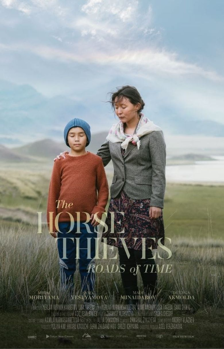 The Horse Thieves. Roads of Time Poster