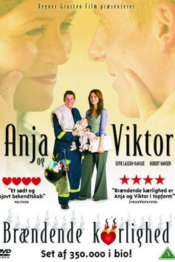Anja & Viktor - Flaming Love Poster
