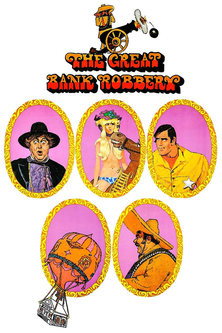 The Great Bank Robbery Poster