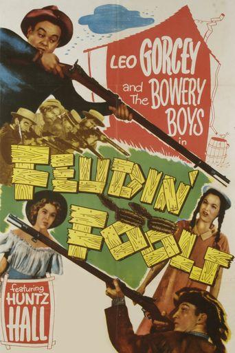 Feudin' Fools Poster