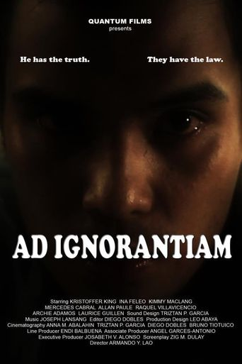 Argument from Ignorance Poster