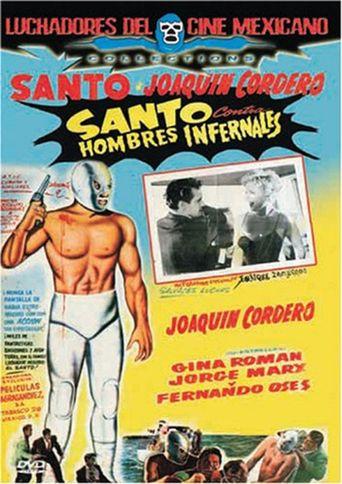 Santo vs. the Infernal Men Poster