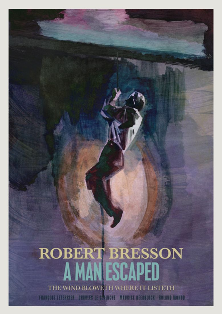 A Man Escaped Poster