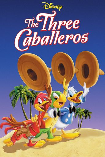 The Three Caballeros Poster