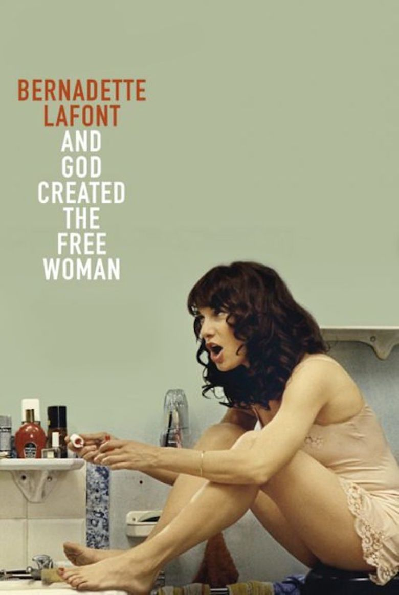 Bernadette Lafont, and God Created the Free Woman Poster