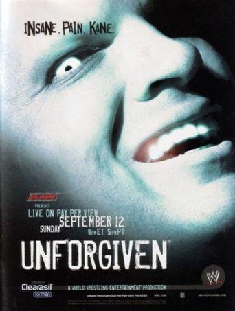 WWE Unforgiven 2004 Poster