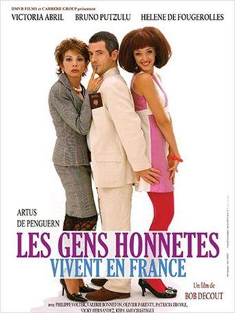Les gens honnêtes vivent en France Poster