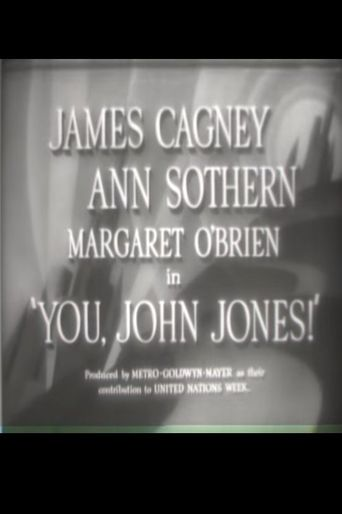 You, John Jones! Poster