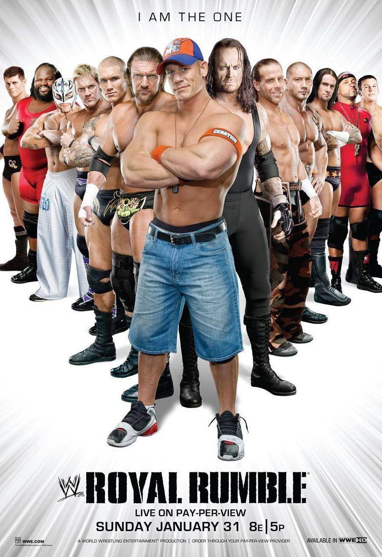 WWE Royal Rumble 2010 Poster