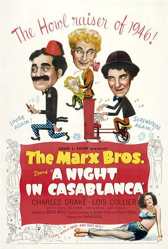 A Night in Casablanca Poster