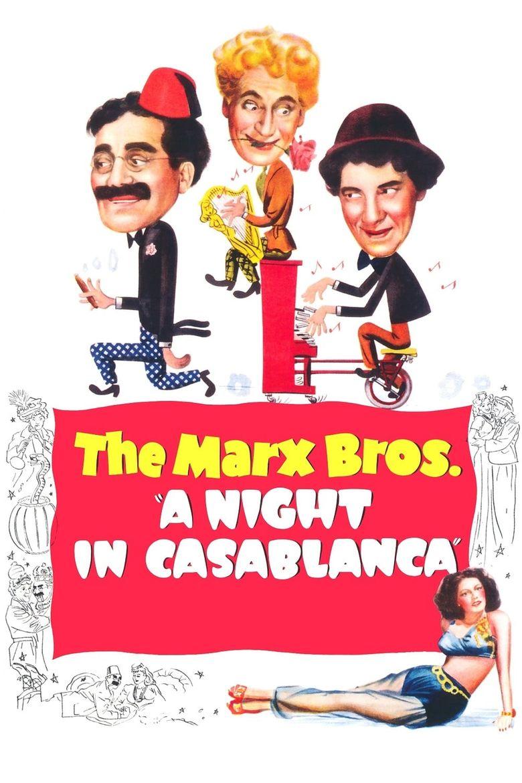 A Night in Casablanca Poster