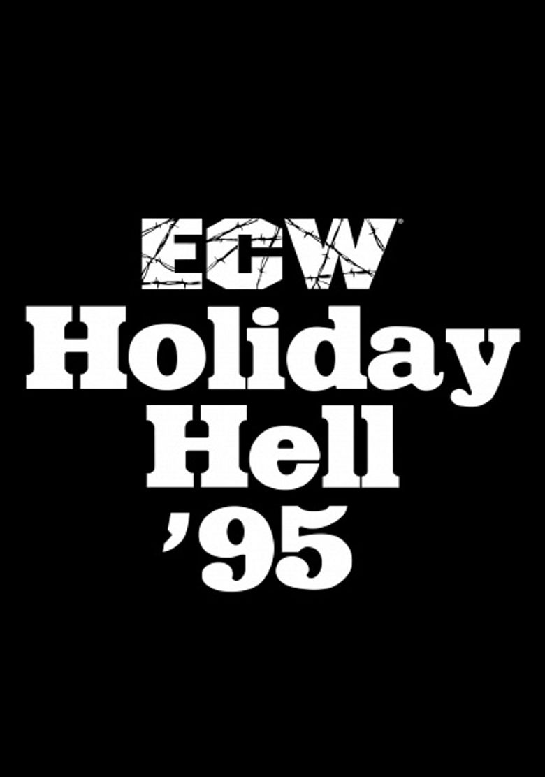 ECW Holiday Hell 1995 Poster