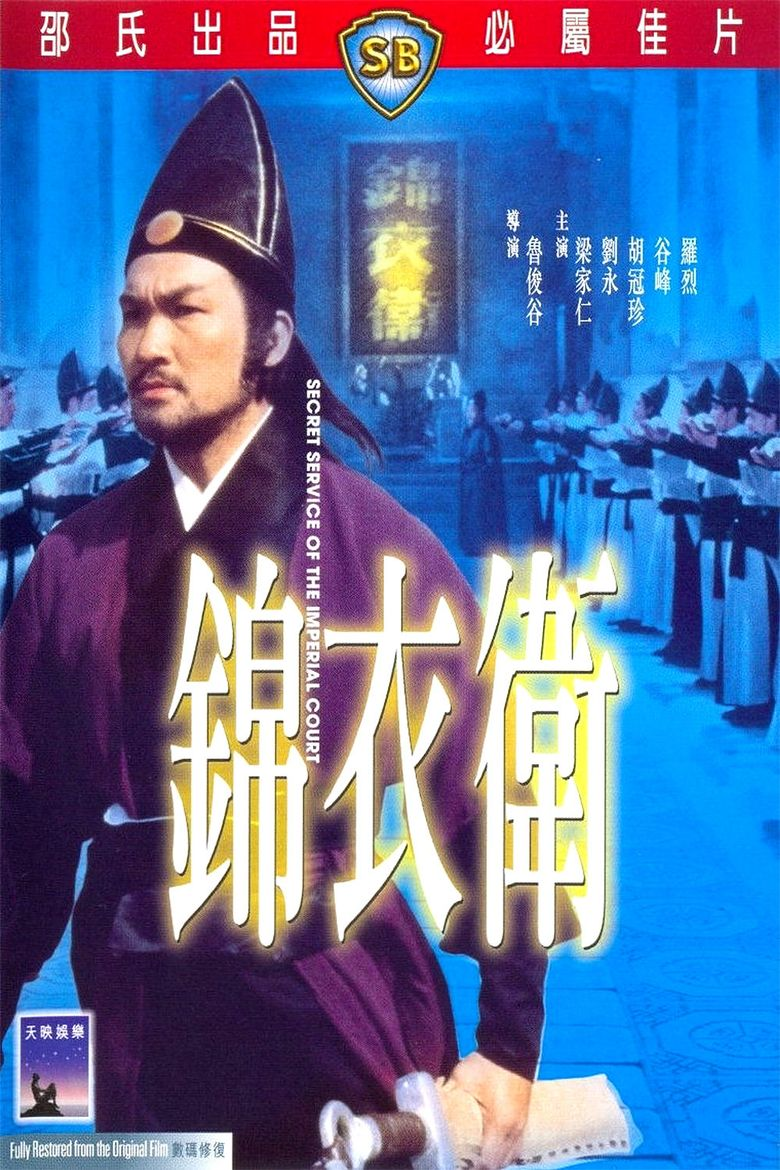 Secret Service of the Imperial Court Poster