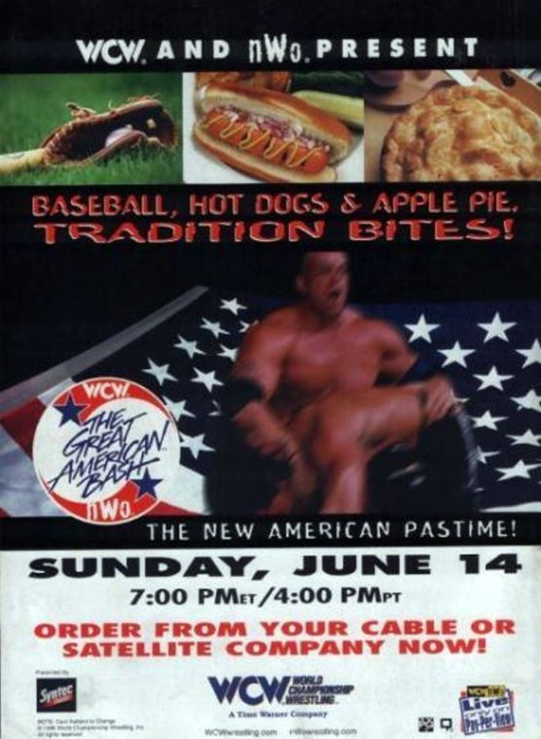 WCW The Great American Bash 1998 Poster