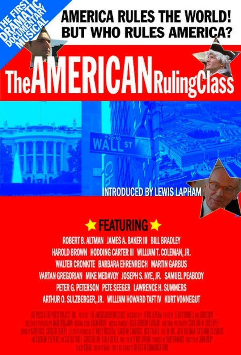 The American Ruling Class Poster