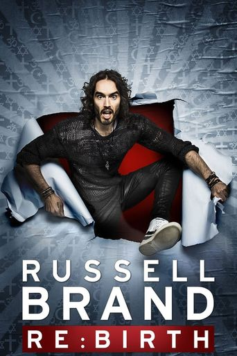 Russell Brand: Re:Birth Poster