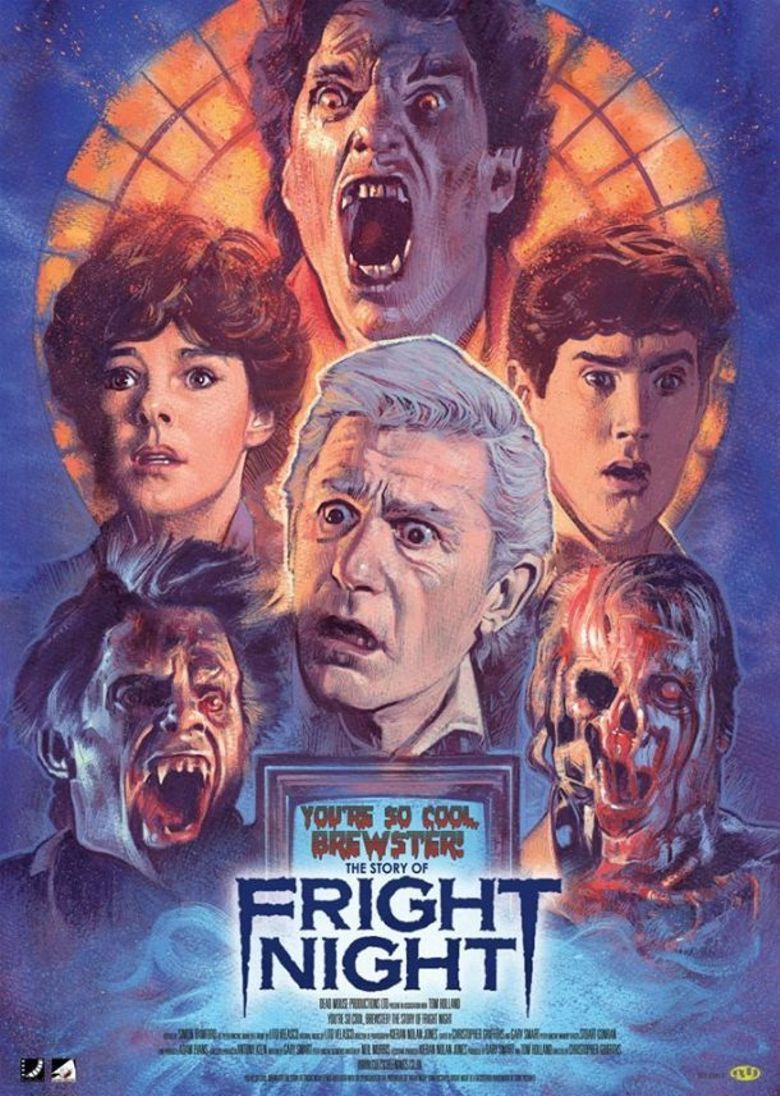 You're So Cool Brewster! The Story of Fright Night Poster