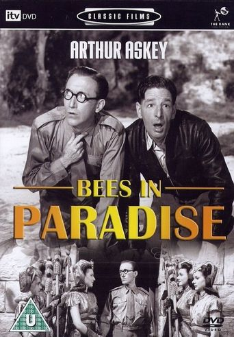 Bees in Paradise Poster