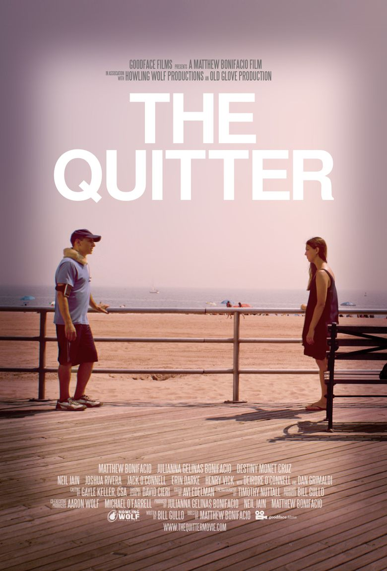 The Quitter Poster