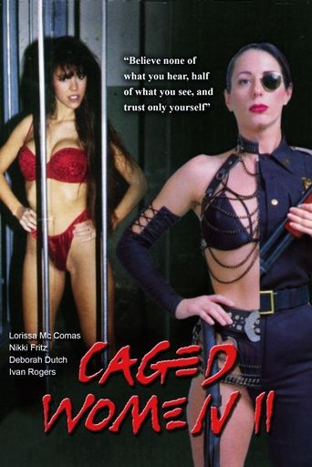 Caged Women II Poster