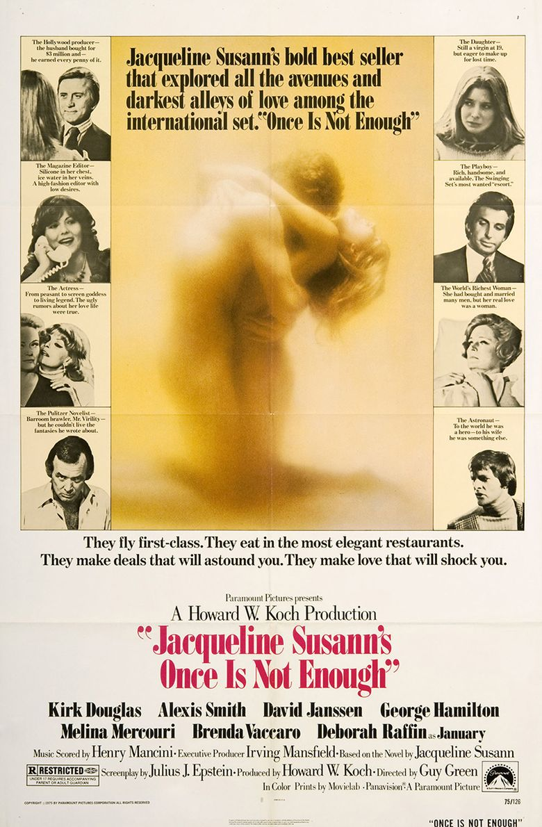 Jacqueline Susann's Once Is Not Enough Poster