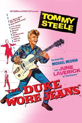 The Duke Wore Jeans Poster