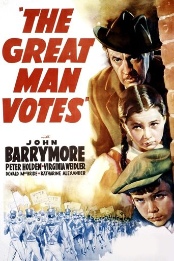 The Great Man Votes Poster
