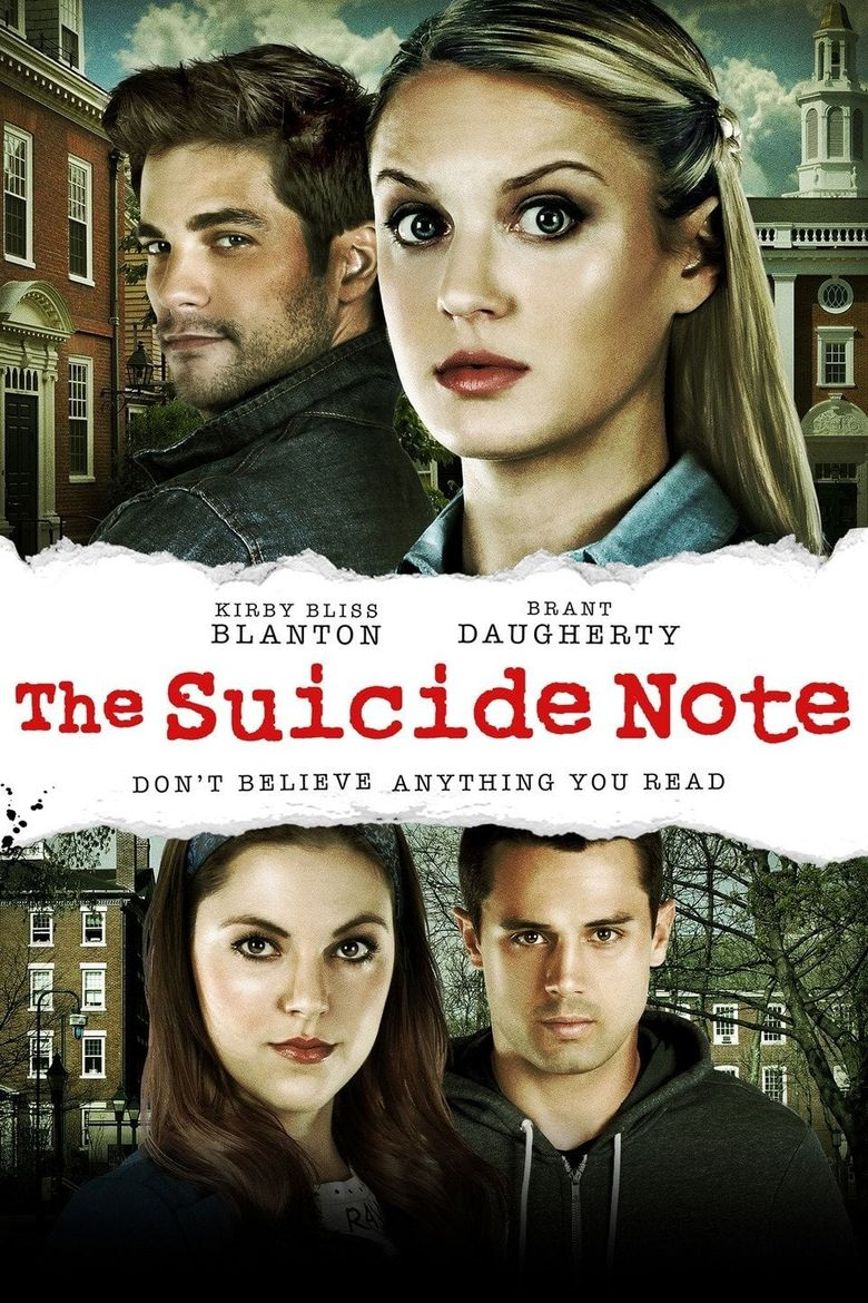Suicide Note Poster