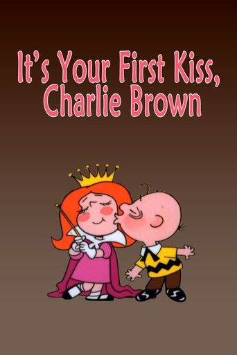 It's Your First Kiss, Charlie Brown Poster