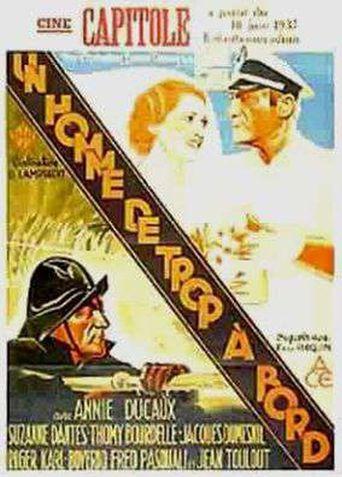 Un homme de trop à bord Poster