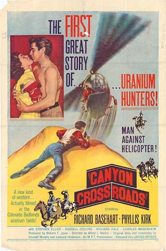 Canyon Crossroads Poster