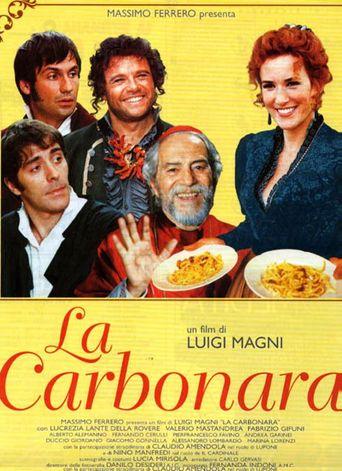 La carbonara Poster