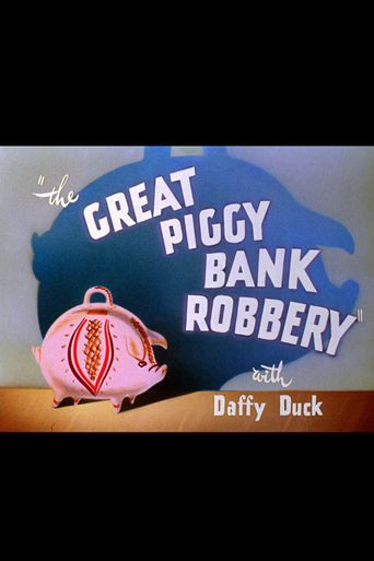 The Great Piggy Bank Robbery Poster