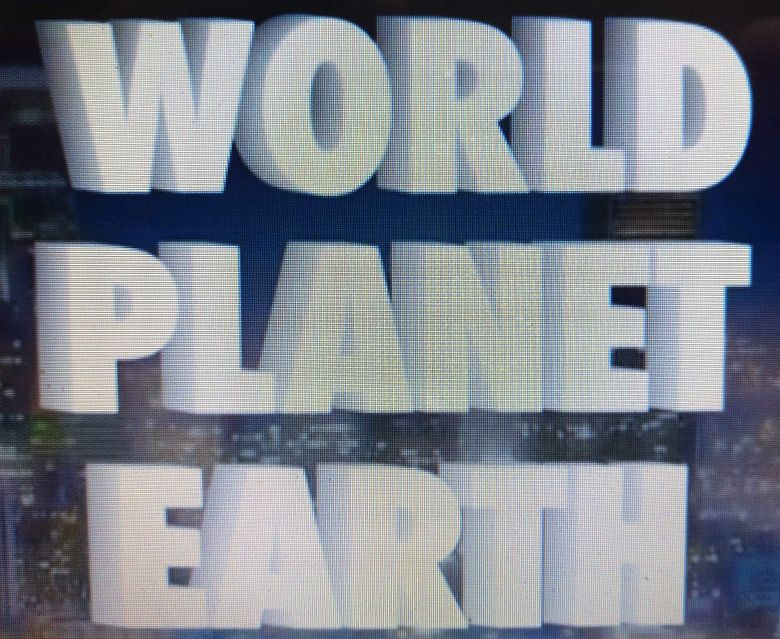 World Planet Earth Poster