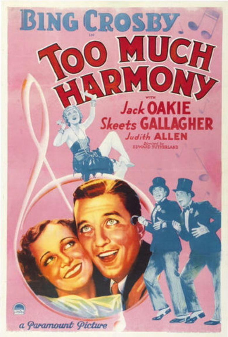 Too Much Harmony Poster