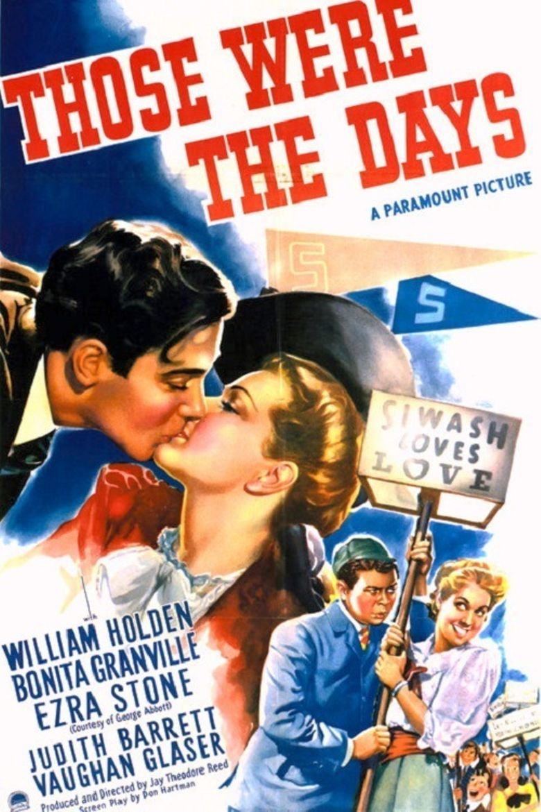 Those Were The Days! Poster