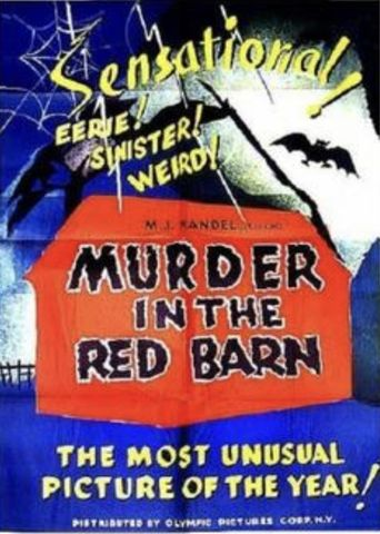 Maria Marten, or The Murder in the Red Barn Poster