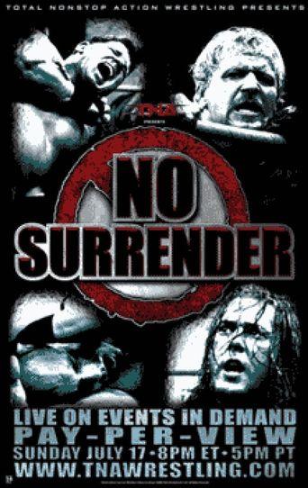 TNA No Surrender 2005 Poster
