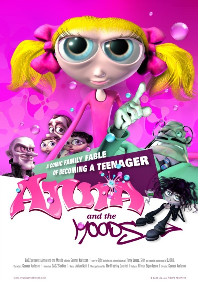 Anna and the Moods Poster
