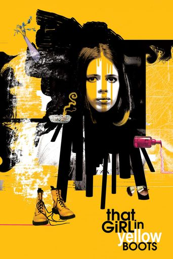 That Girl in Yellow Boots Poster