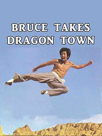 Bruce Takes Dragon Town Poster
