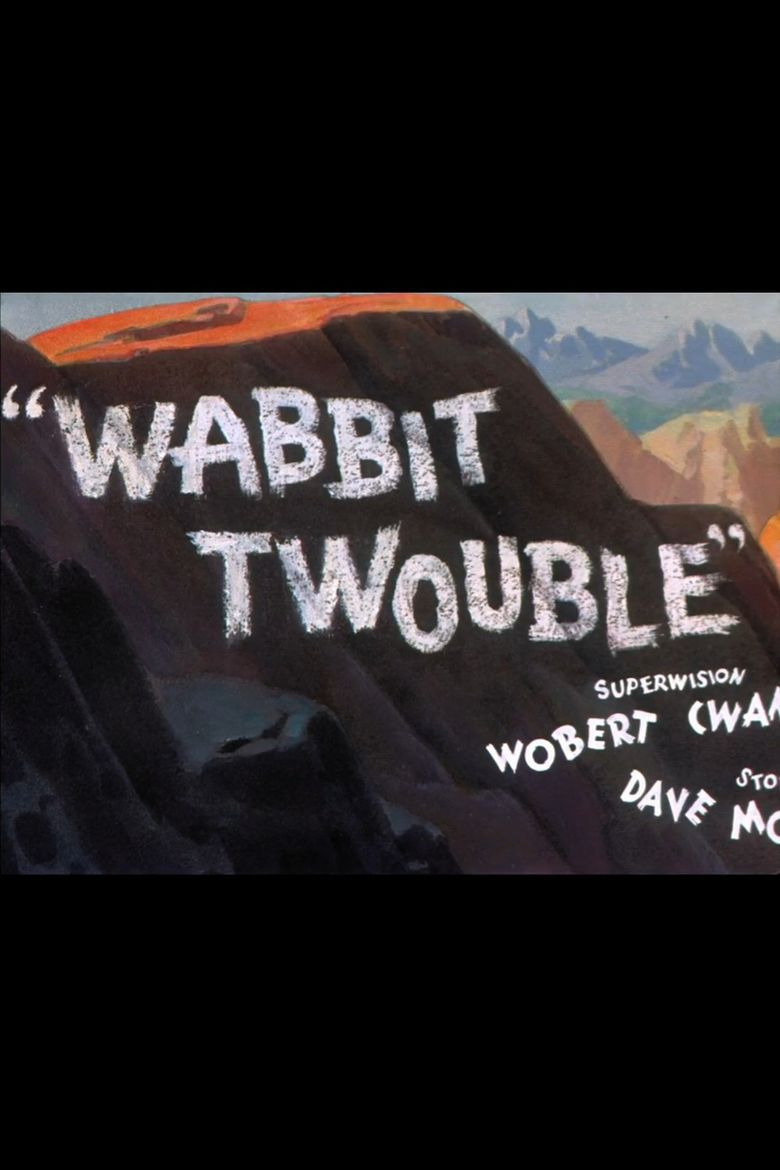Wabbit Twouble Poster