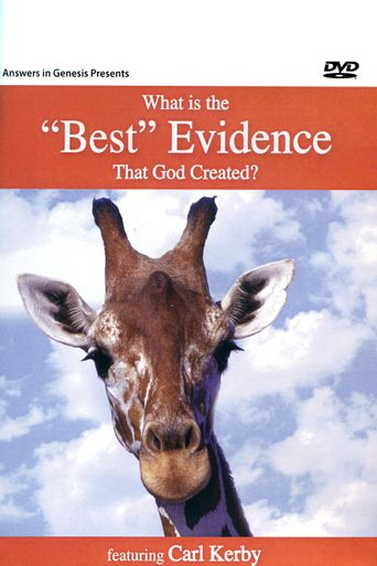 What Is the 'Best' Evidence That God Created Poster