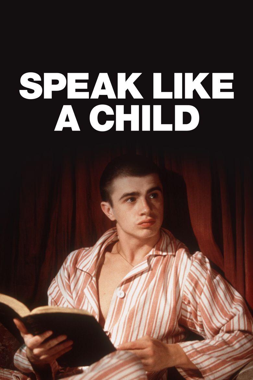 Speak Like a Child Poster